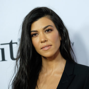 "Kourtney Kardashian shared videos from her ""blood"" facial"
