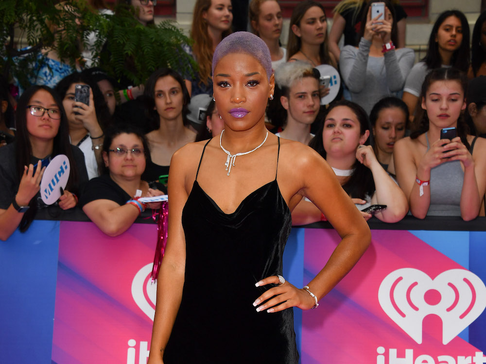 Keke Palmer proves that you can totally rock velvet during the summer