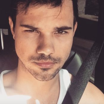 Taylor Lautner jumps into moving car in low-key epic Instagram video