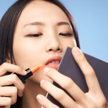 This hack for not getting makeup on your shirt is only *slightly* disturbing