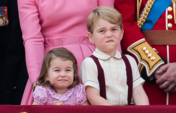Relatable royal Prince George has stolen the internet's heart with his face again