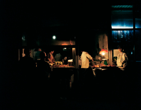 Here's what happened when this writer ate in total darkness at the world's first pitch-black restaurant