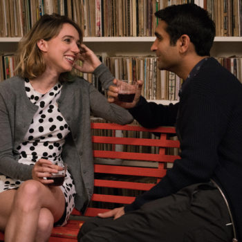 "Kumail Nanjiani and Zoe Kazan had some ""weirdness"" to work through in the making of ""The Big Sick"""