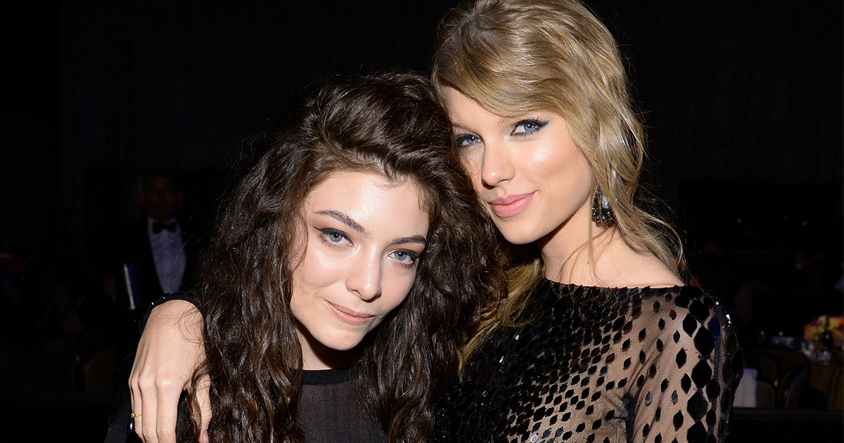 """Lorde apologized for saying that being friends with Taylor Swift is like """"having a friend with an autoimmune disease"""""""