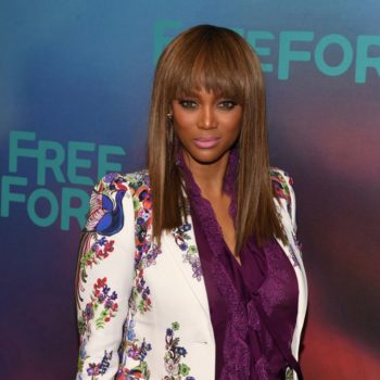 Tyra Banks shared a photo of her son, and they're basically twins