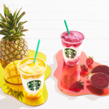 These new Starbucks drinks taste like a tropical vacation and will light up your Instagram feed