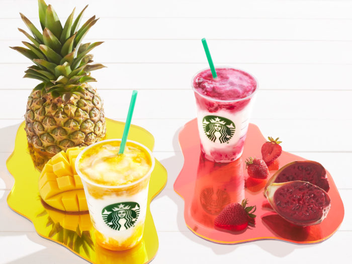 Starbucks introduces Mango Pineapple, Berry Prickly Pear Frappuccinos