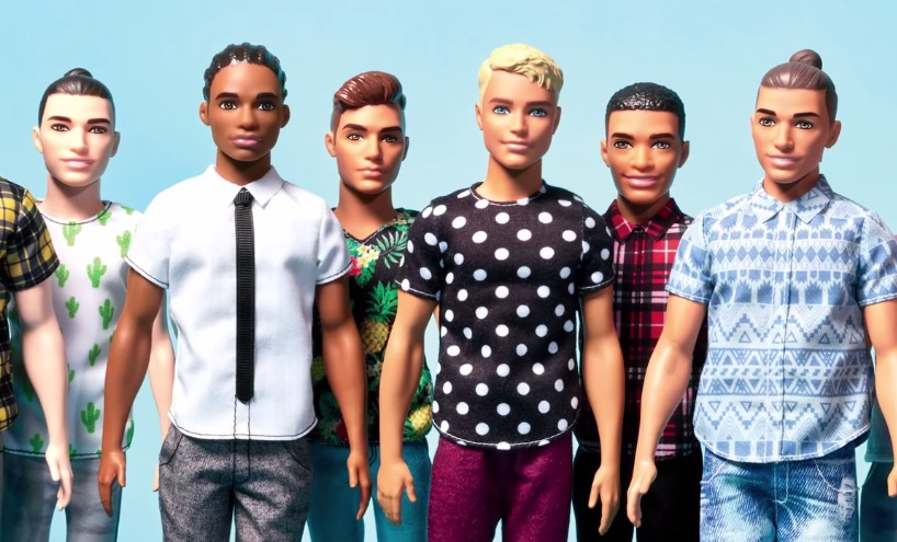 Barbie's boyfriend Ken just got a huge makeover