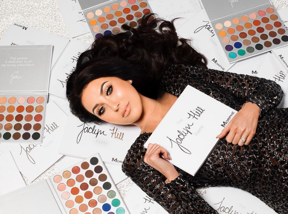 Heads up: Jaclyn Hill's new eyeshadow palette with Morphe Brushes launches tomorrow