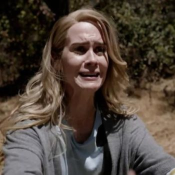 """Sarah Paulson can only tease one thing about her """"American Horror Story"""" character for Season 7, and honestly, same"""