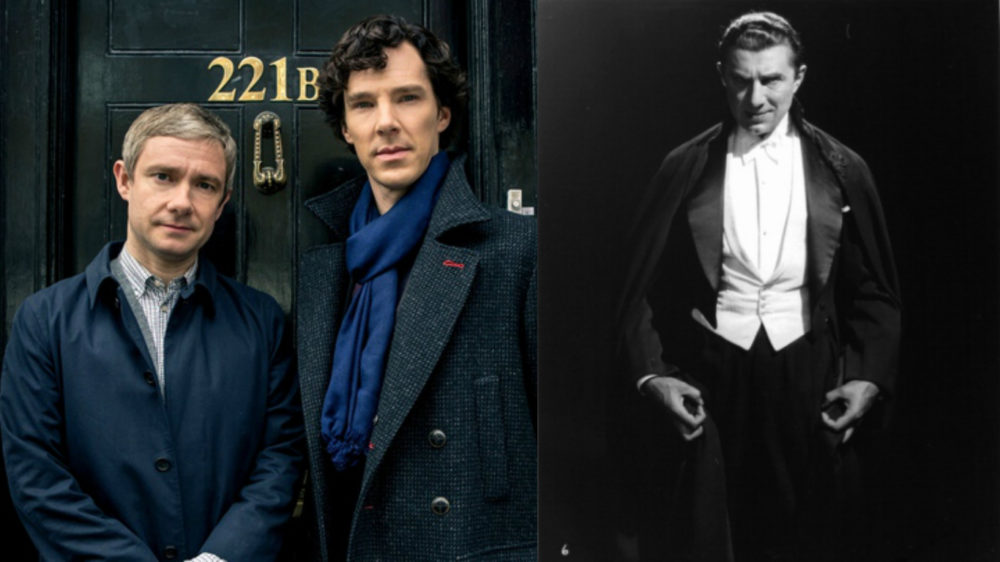 "The vampires are afoot, because the ""Sherlock"" team is going to make a Dracula mini-series"