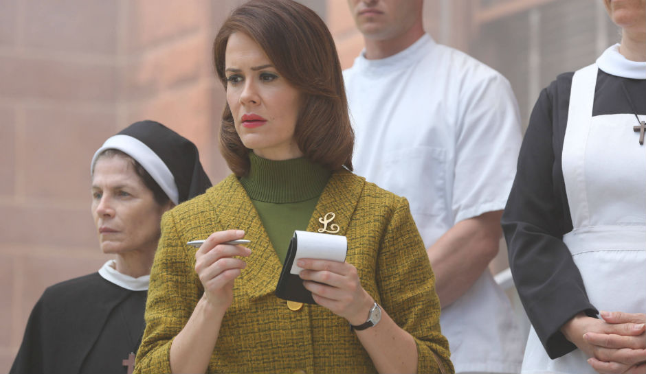 "Sarah Paulson was really disappointed she didn't get to do this one during ""American Horror Story: Roanoke"""