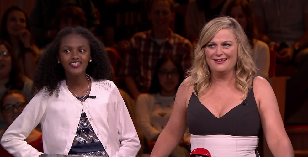 Amy Poehler tested Jimmy Fallon to see if he was smarter than this brainy girl