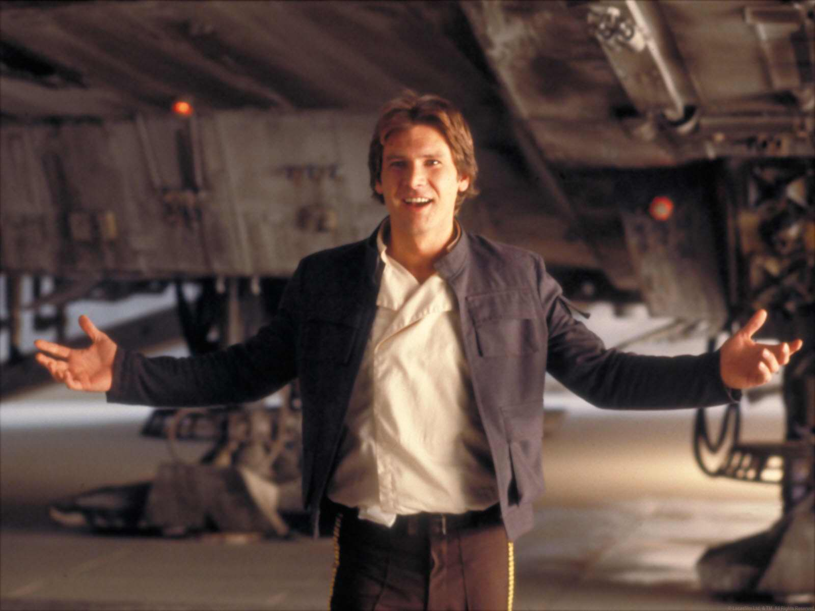 Ron Howard is now directing the Han Solo film, and this sounds like a clear cut situation for comedy