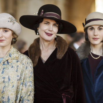 "Get everyone into the library for this announcement: A ""Downton Abbey"" movie is officially happening"