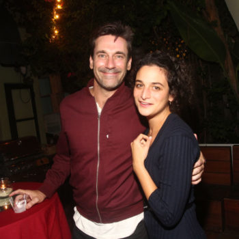 Your best friend, Jenny Slate, hung out with your boyfriend, Jon Hamm, at the movies