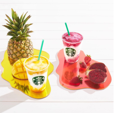 Um, so here's what's in that new fruity Starbucks Frappuccino