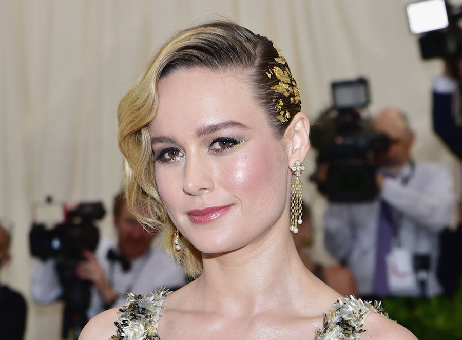 Brie Larson's rainbow sandals are the official shoe of summer