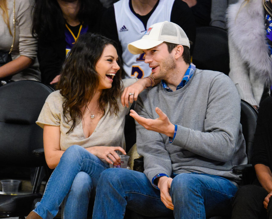 "Ashton Kutcher opened up about his ""awkward"" first kiss with Mila Kunis"