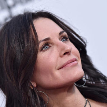 "Courteney Cox got super real about using facial fillers, saying, ""I was trying to keep up"""