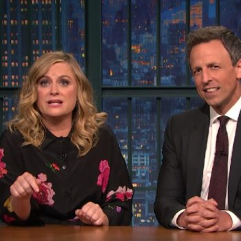 """Amy Poehler and Seth Meyers brought back one of their classic """"SNL"""" bits"""