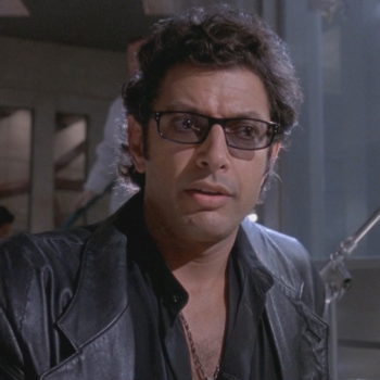 """The tagline for the new """"Jurassic World"""" sequel appears to be a Jeff Goldblum joke"""