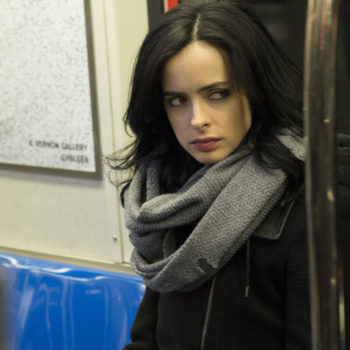 """Jessica Jones is front and center in all the new """"Defenders"""" posters — as she should be"""