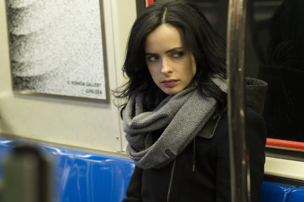 "Jessica Jones is front and center in all the new ""Defenders"" posters — as she should be"