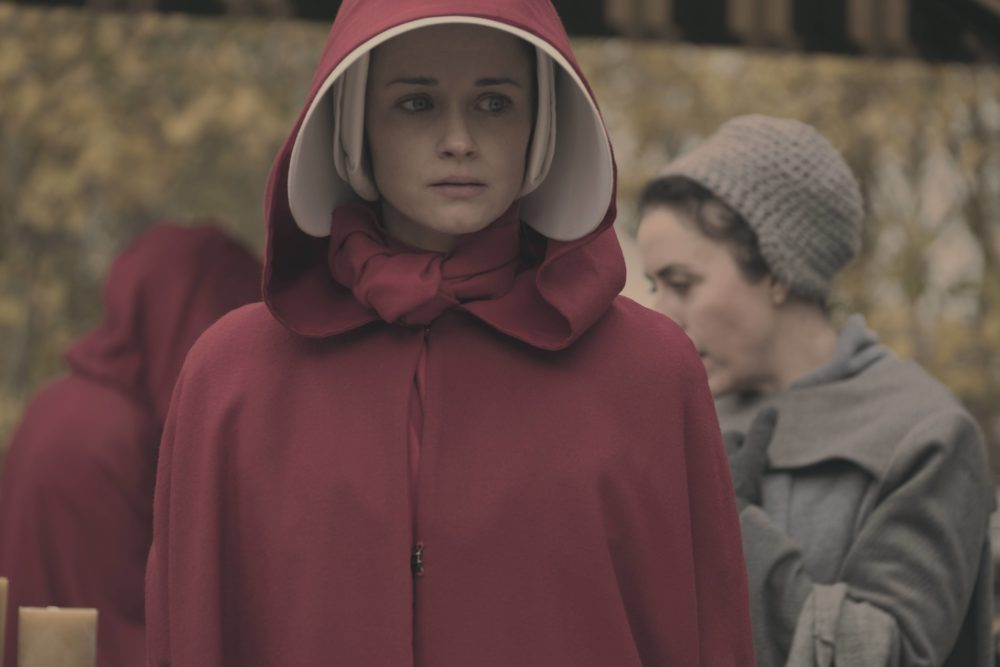 "Alexis Bledel will return to ""The Handmaid's Tale"" as a Season 2 series regular, and praise be"