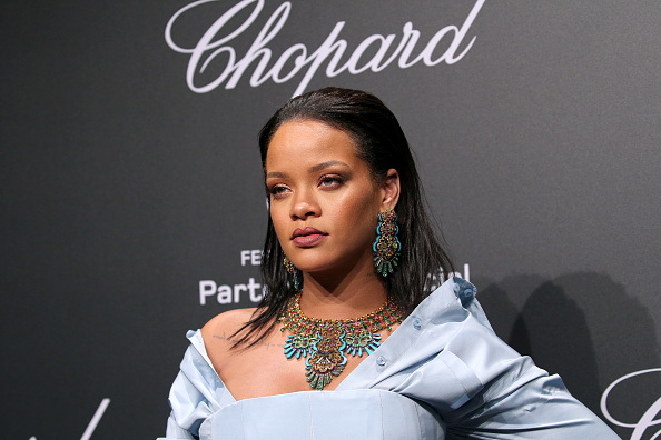 "Rihanna's last collection with Manolo Blahnik is called ""So Stoned,"" because of course"