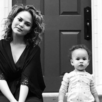 Chrissy Teigen shared a video of baby Luna rocking some dance moves, and girl can throw some shapes