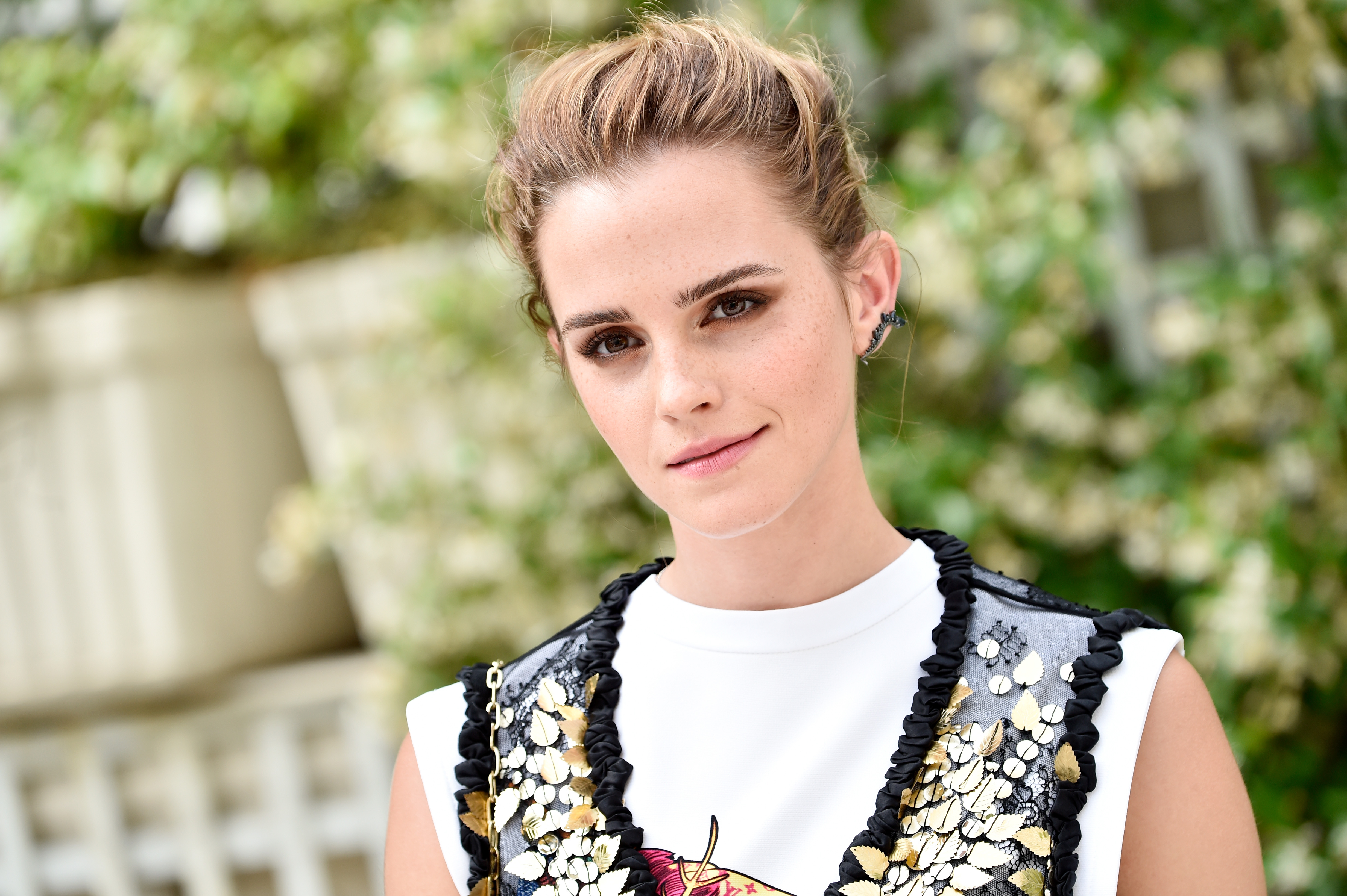 Emma Watson is currently wearing this dusty rose lipstick (and it's cruelty-free)