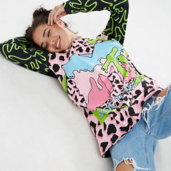 ASOS just launched an '80s-inspired MTV collection, so put on your jelly shoes and start shopping