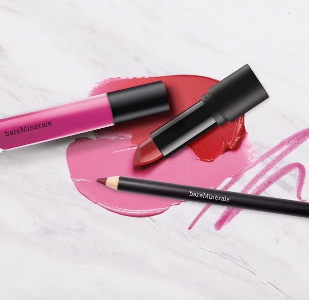 With BareMinerals' Statement Lip line, you could wear a new lipstick almost every day for a month