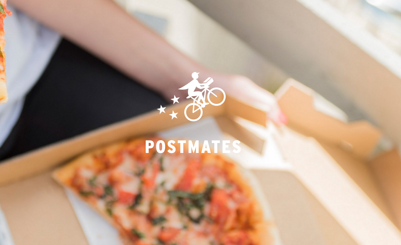 If you order from Postmates this weekend, you get FREE delivery