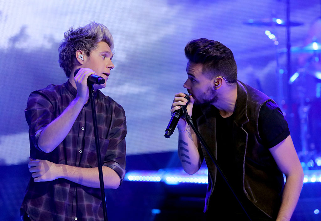 Niall Horan and Liam Payne had a mini-One Direction reunion, awww