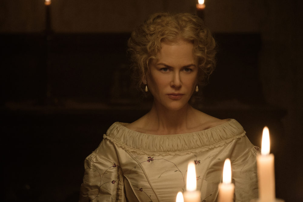 """Nicole Kidman had a wonderfully witchy suggestion for one of her """"Beguiled"""" costumes"""