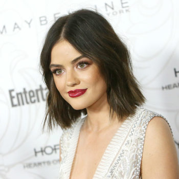 Lucy Hale thinks she looks like a mixture of these four celebs, and we totally see it
