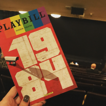 "The Broadway production of ""1984"" is so intense, people are screaming, vomiting, and passing out"