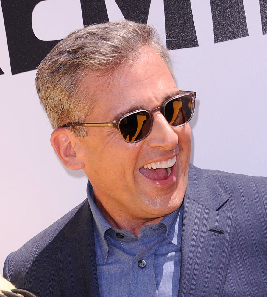 7 reactions to recent Steve Carell pics that prove he's the ultimate silver fox