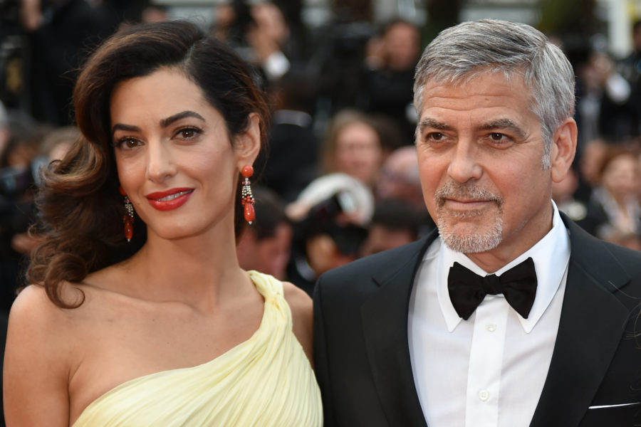 "The Clooney twins are apparently a ""perfect mix"" of George and Amal"