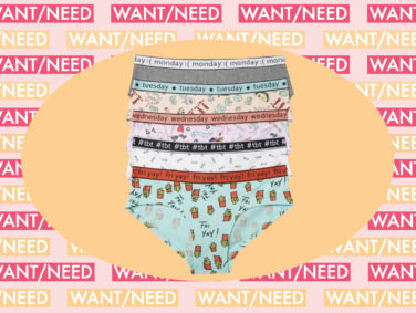 WANT/NEED: Days of the week undies to take you from Monday to Friyay, and more stuff you'll want