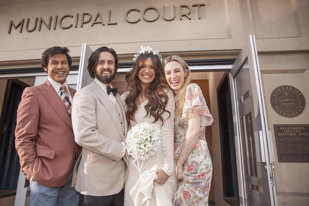 "Mandy Moore has no idea how Rebecca and Miguel get together on ""This Is Us"""