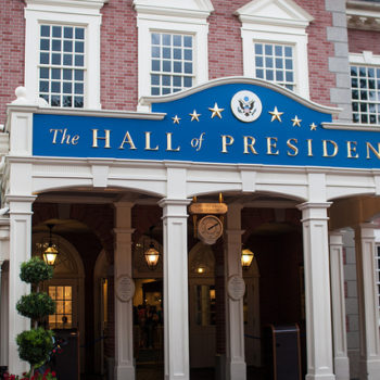 "Disney World has delayed the opening of Hall of Presidents for ""unknown reasons"" and sure, Jan"