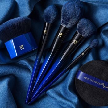 In less than a week, you can shop the Real Techniques brush set that was inspired by blue squirrels