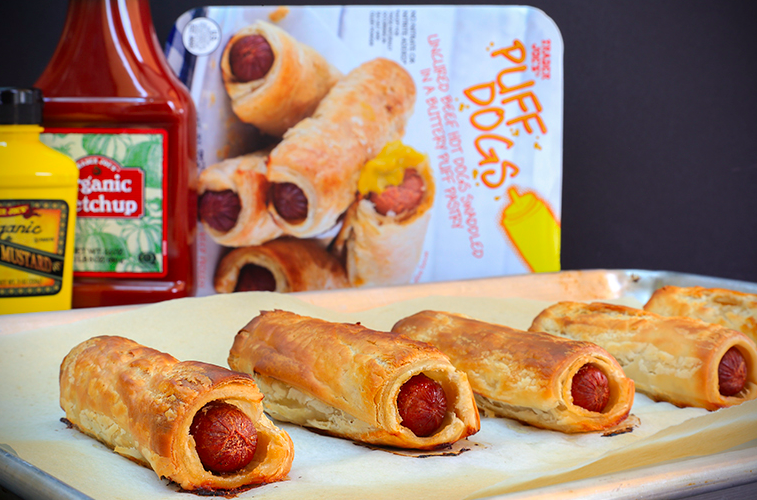 "Here's why the British are totally facepalming about Trader Joe's new ""puff dog"" product"
