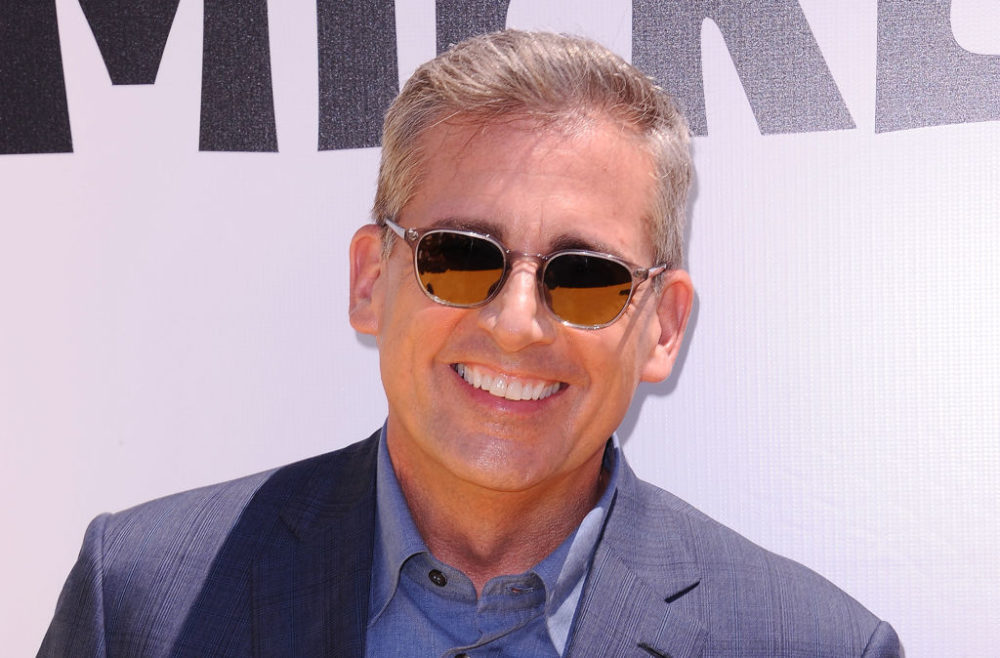 Steve Carell has something to say about people freaking out over his silver foxiness