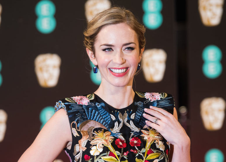 Emily Blunt proves that dressing like the dancing lady emoji is a full-blown trend