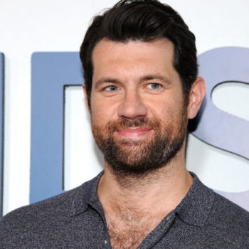 "Billy Eichner is completely distracted trying to act with Sarah Paulson during ""AHS"" Season 7, and like, same"