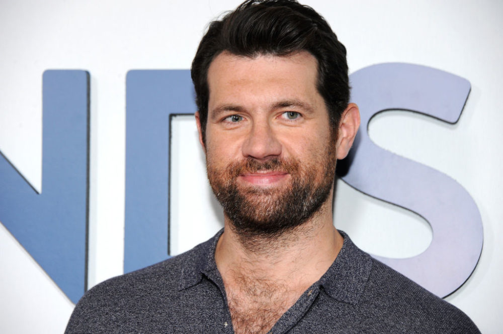 "Billy Eichner loves working with Sarah Paulson on ""American Horror Story"" Season 7"